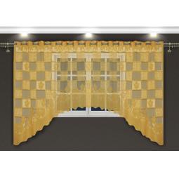 фото Гардина-арка Zlata Korunka Square Tiles. Цвет: золотистый