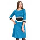 Фото Платье Mondigo 5163. Цвет: морской волны. Размер одежды: 48