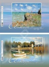 Альбом для рисования Erich Krause «Шедевры живописи: Клод Моне». В ассортименте