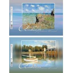 фото Альбом для рисования Erich Krause «Шедевры живописи: Клод Моне». В ассортименте