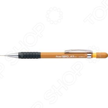 Карандаш механический Pentel 120 A319-Y пригодится и школьникам во время учебного процесса, и офисным работникам. В отличие от обыкновенного простого карандаша его не надо постоянно затачивать, прочный корпус не поломается. Если стержень в карандаше закончится, то его можно просто поменять, не покупая себе новый карандаш.