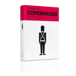 Купить Карта туристическая мятая Palomar Copenhagen