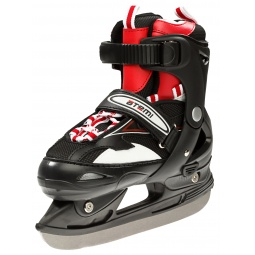 фото Коньки-ролики с хоккейным лезвием ATEMI CROSS. Размер: 34-37