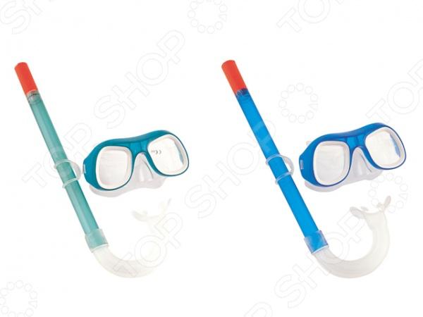 Набор из маски и трубки детский Intex 24007. В асссортименте intex маска для плавания бегемот лягушка intex в ассорт