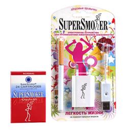 Купить Электронная сигарета SuperSmoker Комплект «SuperSmoker Zero/Elite», блистер J