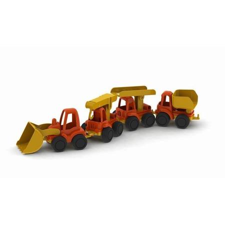 Купить Набор машинок игрушечных Нордпласт «Строительная техника. Нордик»