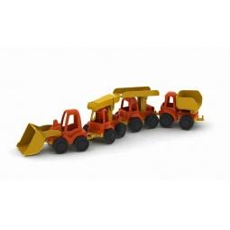 фото Набор машинок игрушечных Нордпласт «Строительная техника. Нордик»