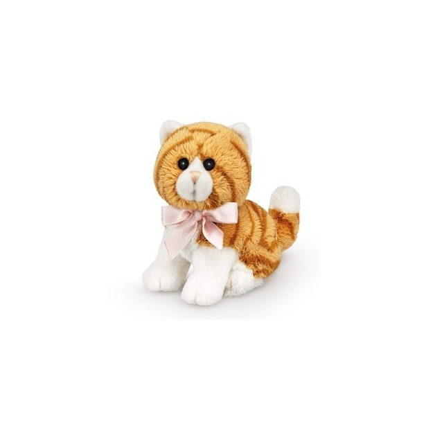 фото Мягкая игрушка Trudi Полосатая кошка. Цвет: оранжевый