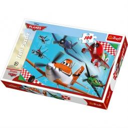 Купить Пазл 100 элементов Trefl «Летающие герои»