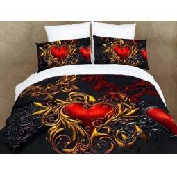 фото Комплект постельного белья Buenas Noches Chainaya Roza. Satin Fotoprint. Евро