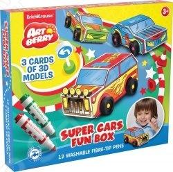 Набор для творчества Erich Krause Super Cars Fun Box
