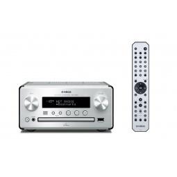 фото CD-ресивер Yamaha CRX-N560. Цвет: серебристый