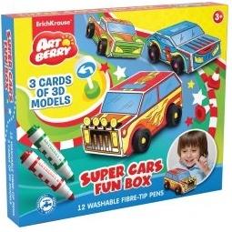 фото Набор для творчества Erich Krause Super Cars Fun Box