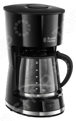 Кофеварка Russell Hobbs 21420-56Кофеварки<br>Кофеварка Russell Hobbs 21420-56 кофеварка, выполненная в современном дизайне. Изготовлена из качественного материала и обладает компактным дизайном и не занимает много места на столе. Позволит приготовить 10 больших чашек кофе и имеет функцию временной остановки во время заваривания. Функция поддержания тепла позволит сохранить кофе теплым в течение 1 часа. Благодаря такому предмету не понадобиться кипятить воду для кофе в отдельной емкости. Процесс готовки кофе происходит автоматически. Идеальная модель как для дома, так и для офиса.<br>