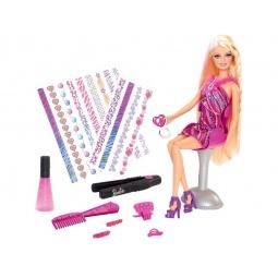 фото Набор игровой с куклой Barbie «Создай прическу. Игра с модой»