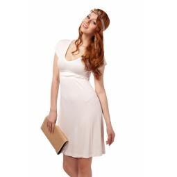 фото Платье Mondigo 8597. Цвет: молочный. Размер одежды: 46