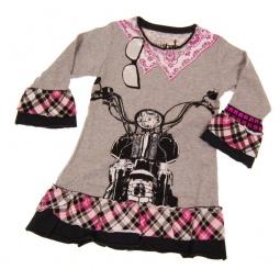 фото Платье детское с аппликацией Mini Shatsu Biker