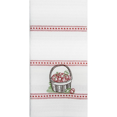 Купить Полотенце вафельное BONITA «Вишня в корзине»