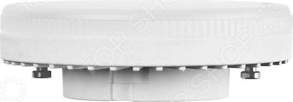 Лампа светодиодная Светозар LED technology 44570-60Лампочки<br>Лампа светодиодная Светозар LED technology 44570-60 прекрасный альтернативный источник освещения, который способен эффективно заменить всем привычные лампы накаливания. Она представляет собой осветительный элемент с рефлекторной колбой с цоколем GX53. Лампа излучает теплый белый свет, который не режет глаза, поэтому она прекрасно походит для использования в светильниках, люстрах, торшерах . За счет использования светодиодов срок службы увеличен, поэтому она сможет проработать до 40 лет при условии ежедневной работы не более 2,8 часов. Лампа безопасная, не токсична и отличается низким уровнем энергопотребления. Особенности светодиодной лампы Светозар LED technology 44570-60:  мгновенное включение без мерцаний и вспышек;  планарные светодиоды обеспечивают мощный источник света;  обеспечивает освещение максимально приближенное к естественному;  защитное матовое стекло сохраняет высокий уровень светового потока;  прочный корпус с низким нагревом.<br>
