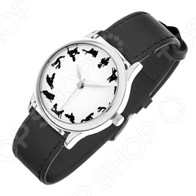 Часы наручные Mitya Veselkov «Камасутра - силуэт»