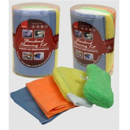 фото Набор из микрофибры Standard Cleaning Kit (руковица, губка, 2 салфетки)