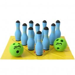 Купить Игра Safsof «Мини-Боулинг» 10 кеглей в сумке. В ассортименте