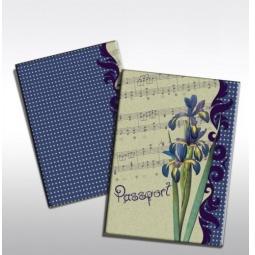 фото Обложка для паспорта Феникс-Презент «Ирис»
