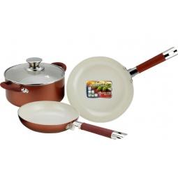 Купить Набор кухонной посуды c внутренним керамическим покрытием Vitesse VS-2238. В ассортименте