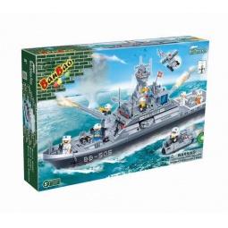 фото Конструктор Banbao Военый морской корабль, 858 деталей