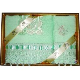 фото Набор из 2-х полотенец с вышивкой Softline 05130
