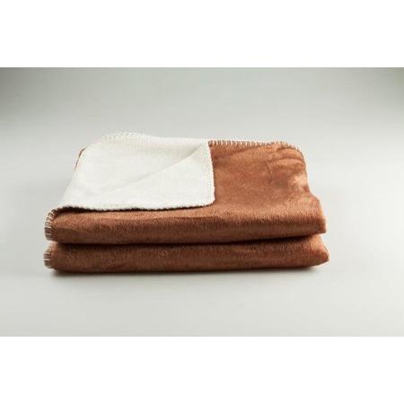 Фото Покрывало Dormeo Extreme Soft. Цвет: коричневый