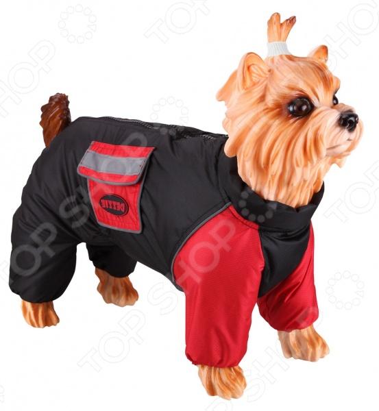 Комбинезон-дождевик для собак DEZZIE «Стаффордширский терьер» комбинезон дождевик для собак dezzie французский бульдог