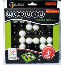 Купить Игра логическая BONDIBON «Шарики, гибкие формы»