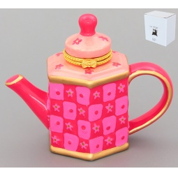 Купить Шкатулка Elan Gallery «Розовый чайник»