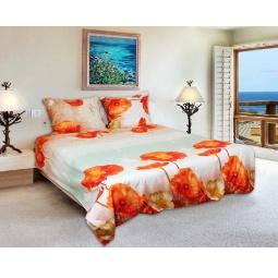 фото Комплект постельного белья Amore Mio Maki. Mako-Satin. 1,5-спальный