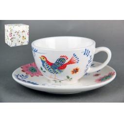 Купить Набор пар чайных Коралл «Синяя птица»