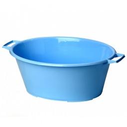 фото Таз овальный IDEA М 2540. Цвет: голубой