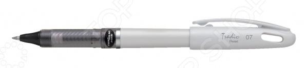 Ручка гелевая Pentel Tradio Energel. Цвет корпуса: белый