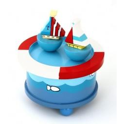 фото Игрушка музыкальная Mapacha «Кораблики»