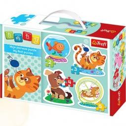 Купить Пазл для малышей Trefl «Домашние любимцы»
