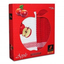 фото Комплект из 2-х кухонных полотенец Mariposa Apple. Цвет: красный