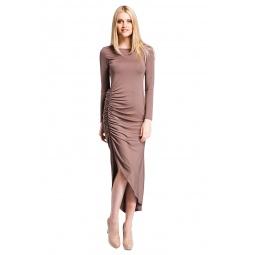 фото Платье Mondigo 7077. Цвет: какао. Размер одежды: 48