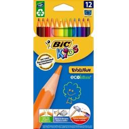 фото Карандаши цветные Bic Evolution