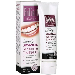 Купить Отбеливающая зубная паста Brilliant 100мл