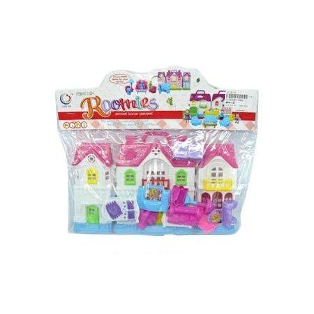 Купить Кукольный дом с аксессуарами Shantou Gepai 626367