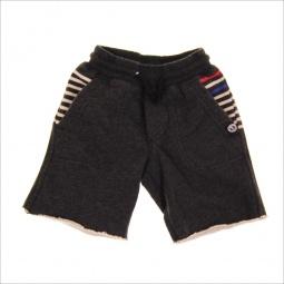 фото Шорты для малышей с аппликацией Mini Shatsu Stripe Cotton Shorts