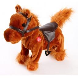 фото Игрушка интерактивная мягкая Fluffy Family «Лошадка Джеки»