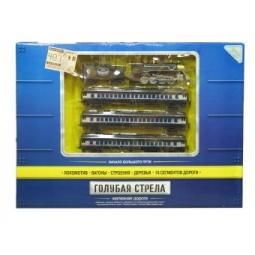 фото Набор железной дороги со светозвуковыми эффектами Голубая стрела 87126