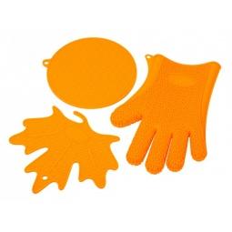 фото Набор кухонных аксессуаров Oursson SA2803S. Цвет: оранжевый