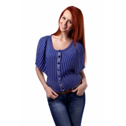 фото Жакет Mondigo 9412. Цвет: синий. Размер одежды: 44